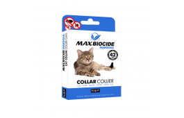 Max Biocide Margosa - Coleira Gato - 42 cm