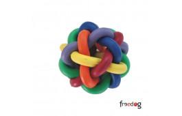 """Brinquedo Cão """"Bola c/ Nós"""" Multicolor"""