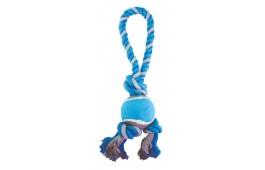 Brinquedo Cão - Mordedor Corda c/ Bola