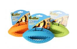 """Brinquedo Cão - """"Grubber Rugby Ball"""""""