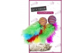 "Brinquedo Gato - Bola ""Carnival Balls"" - 2 Unidades"