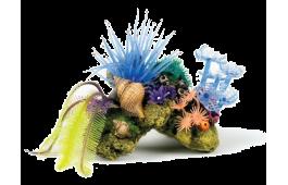 """Decoração Aquário """"Coral Stone Plants"""""""