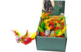 "Brinquedos Gato ""Funny Mouse"" - Expositor 48 Unidades"
