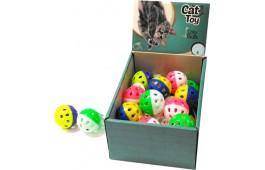 """Brinquedos Gato """"Color Balls"""" - Expositor 24 Unidades"""