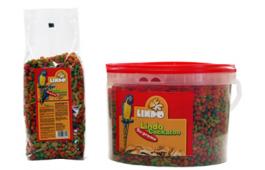 Alimento para Papagaio Granulado Tropical