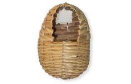 Ninho para Exóticos Oval em Bamboo