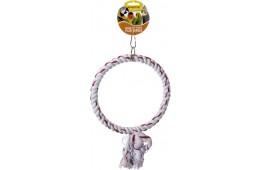 """Brinquedo p/ Pássaro - """"Rope Ring"""""""