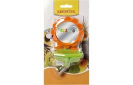 """Brinquedo p/ Pássaro - """"Flower Mirror Bell Feeder"""""""