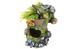 """Decoração Aquário """"Tin Can Plants"""""""
