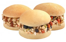 Snacks Mini Burguer Sortidos p/ Roedores - Pack 12 Unidades