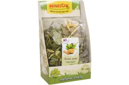"""Snack Nature Line """"Green Salad"""" p/ Roedores 200g"""