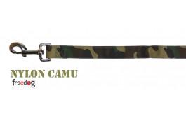 Trela Nylon Camu
