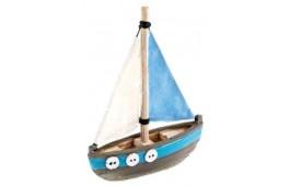 """Decoração Aquário """"Nautical Sail Boat"""""""
